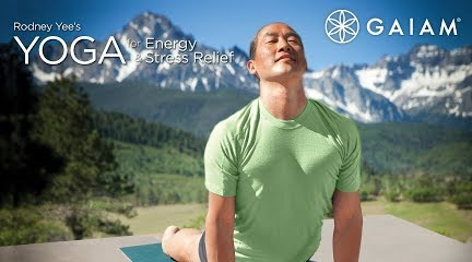 Youtube Chair Yoga Pre Owned Tables And Chairs Rodney Yee For Energy Stress Relief Get Season 1 On