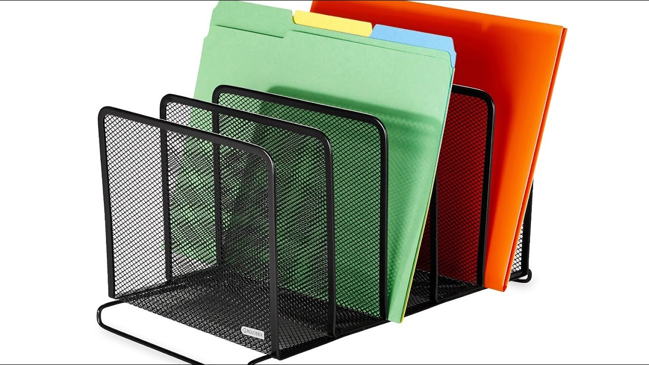 Review Rolodex Mesh Collection Stacking Sorter 5 Section Black 22141 You