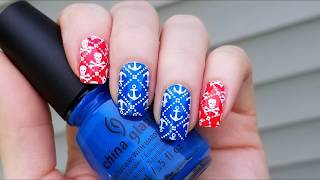 How to Anchor Nail Stamping Tutorial