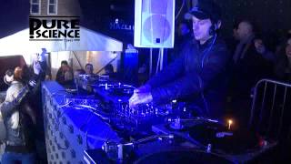 Andy C & 2 Shy - Pure Science 16 Street Party  - 29.3.13