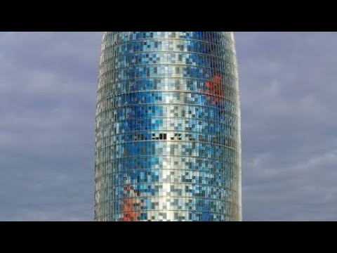 Torre Agbar breath taking view Barcelona, Spain... A must visit place