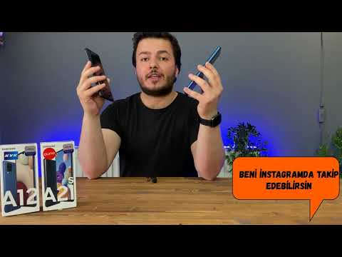 Samsung Galaxy A12 Kutu Açılımı ve İnceleme! Pubg Mobile Testi
