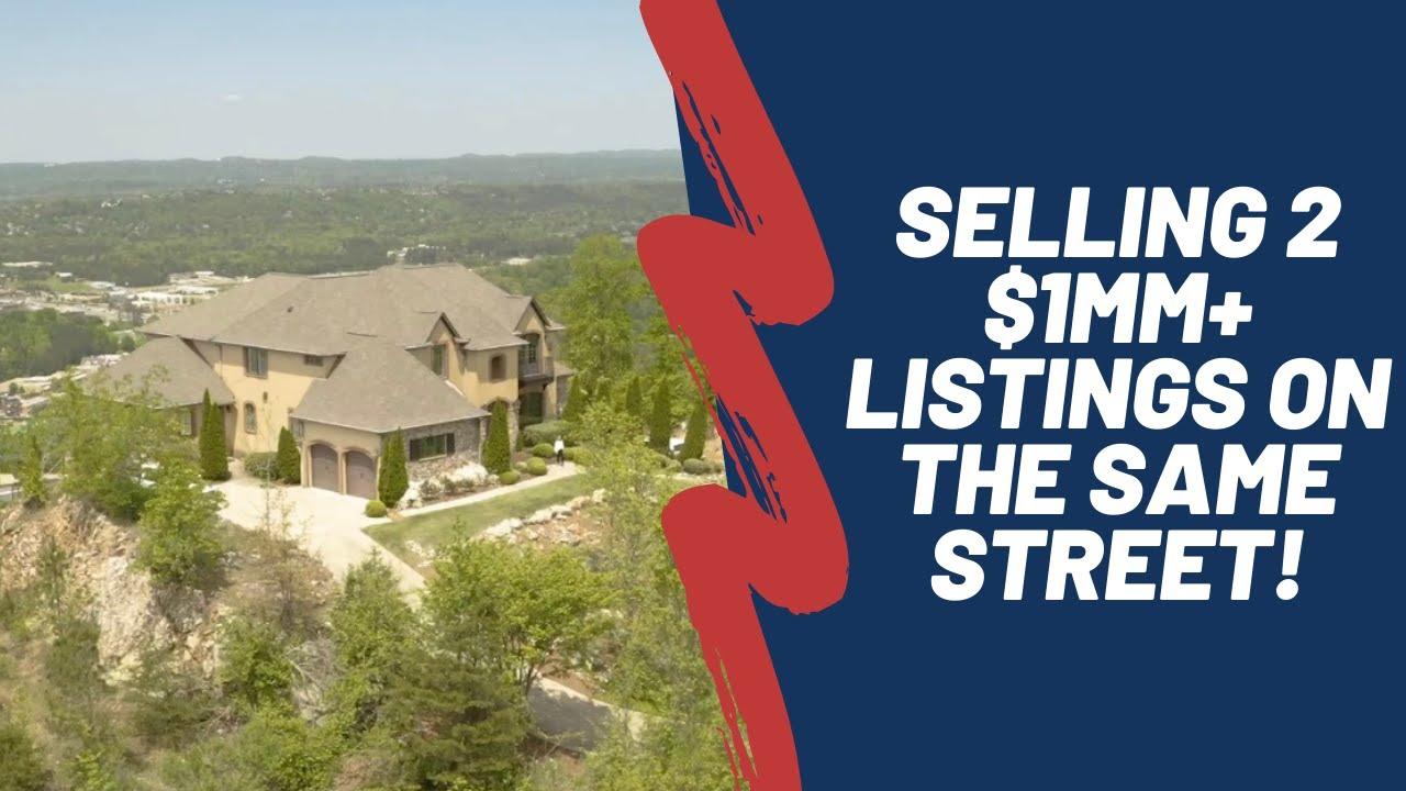 Selling 2 Million Dollar Homes On The Same Street