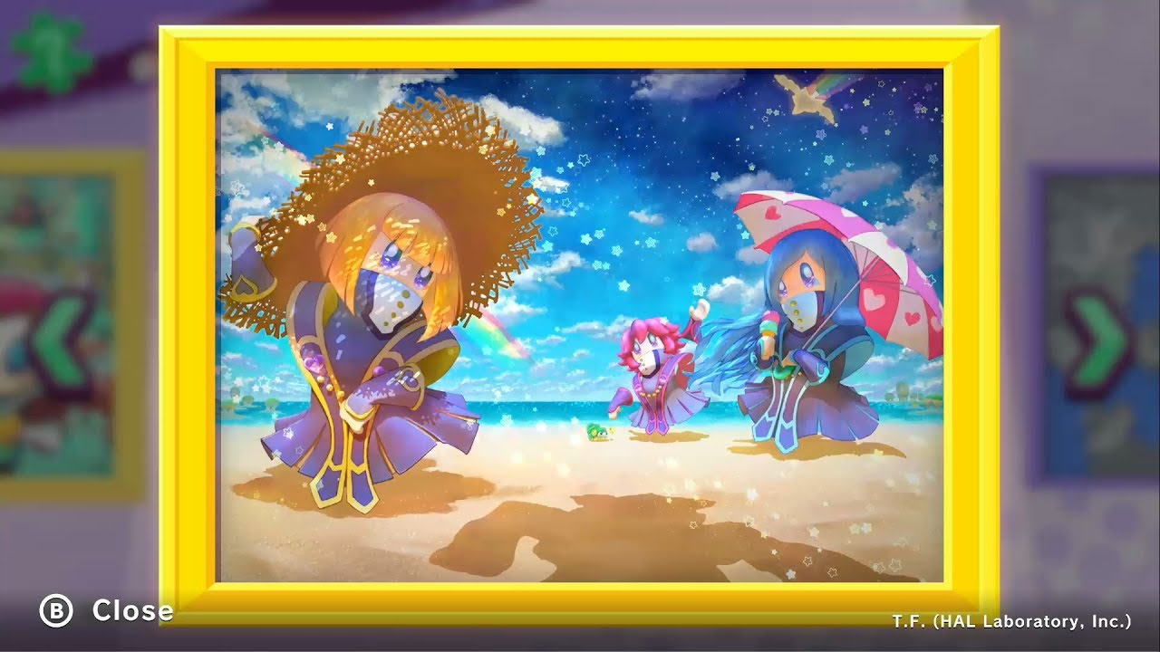 Kirby Star Allies Guest Star The Three Mage Sisters Youtube