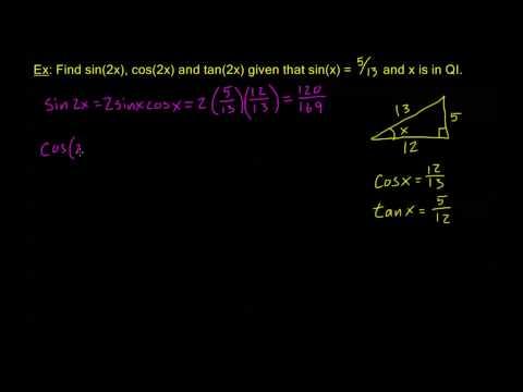 7.3.1 - Double Angle Formulas