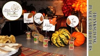 Thanksgiving Sugar Place Card Favors From First Impressions Molds