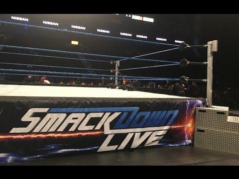WWE SmackDown Live 8/2/16 FRONT ROW (Nashville, TN) | Brandon Hodge Vlog #34