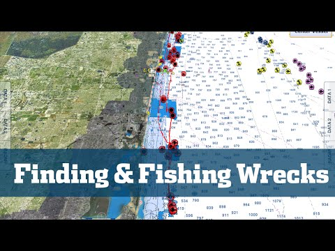 Florida Sport Fishing TV - Pro's Tip How To Find Fish Wrecks Reefs