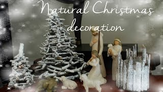 Diy Natural Christmas Nativity Scene Decoration Ideas