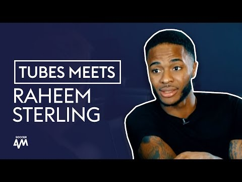 The SECRET To Sterling's Sensational Form | Tubes Meets Raheem Sterling