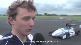 TU Delft Formula Student Team: WR Attempt Electric Acceleration - First Item [English subs] thumbnail