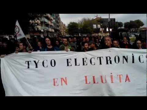 TYCO ELECTRONICS  PROTESTING 1