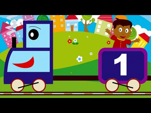 Learn numbers in Spanish. El tren de los números. Aprende los ...