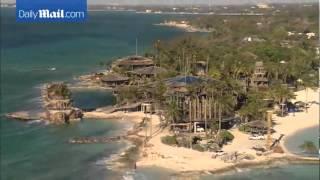 Aerial Footage Shows Peter Nygard's Palatial Bahamas House