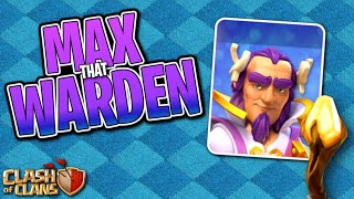 MAX That WARDEN! Fix that Engineer ep57 | Clash of Clans