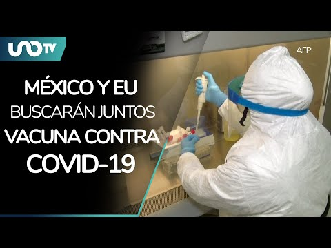 Mexico and the EU are working together now to find a vaccine against COVID-19
