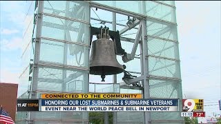 World Peace Bell tolls for lost submarine veterans