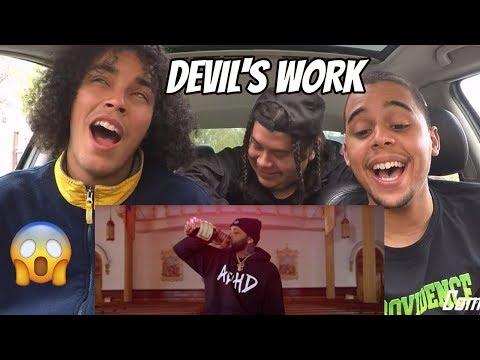 JOYNER LUCAS - DEVIL'S WORK (ADHD) REACTION REVIEW