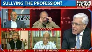 To The Point - Karan Thapar - To The Point: Has Saikia Tainted Face Of Indian Journalism?