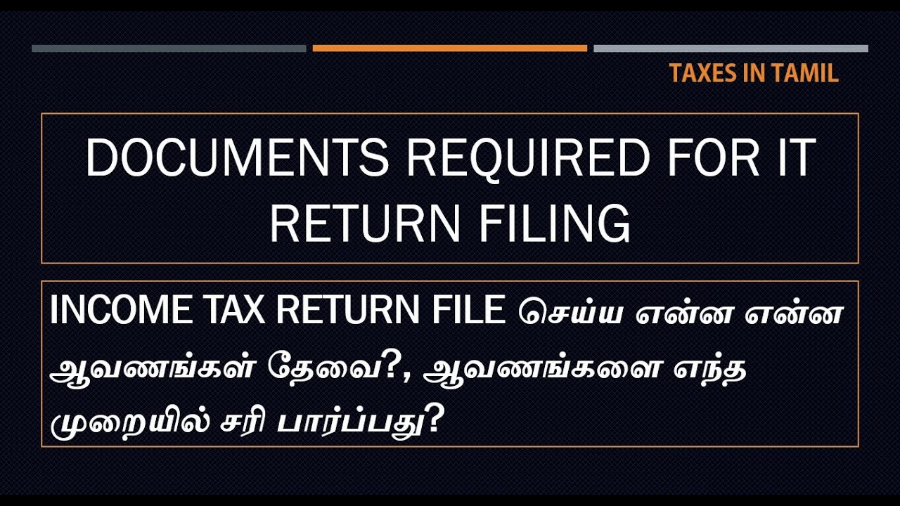 what is the purpose of income tax return