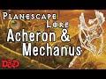 Acheron and Mechanus - D&D Lore