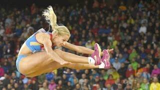Darya Klishina Дарья Клишина 2014 11v European Championships Zurich Final August 13rd (HD)