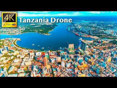 Tanzania - 4K UHD Drone Video   Explore Dar es Salaam, Arusha City, Tanzania in 4K Drone Video