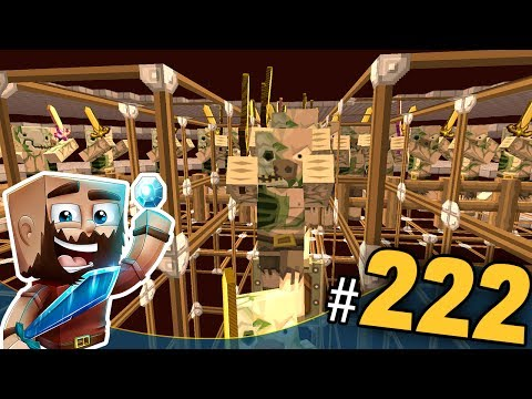 Minecraft Let's Play Multiplayer Ep.222 | Ferma de GOLD si Mobilierul
