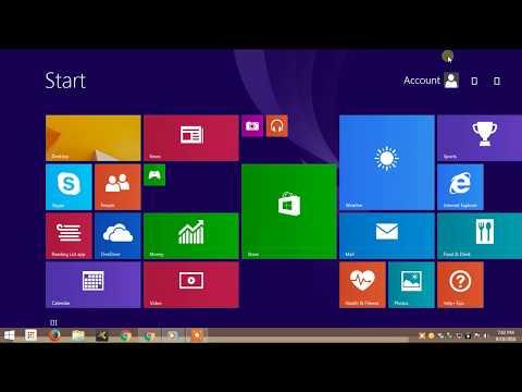 How To Open Microsoft Office In Window 8