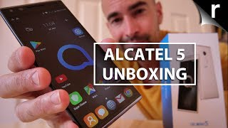 Alcatel 5 Unboxing | Face recognition for under £200!