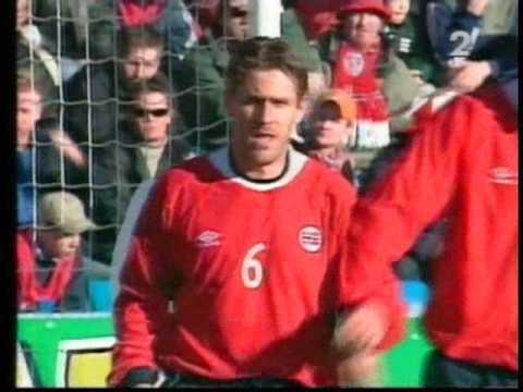 Norwegia - Polska 2001 wynik 2-3