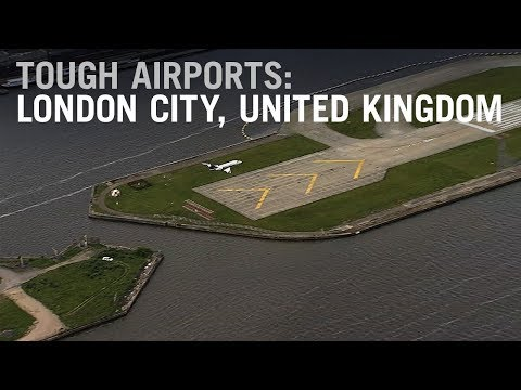 Flying into Tough Airports: London City, UK – AINtv