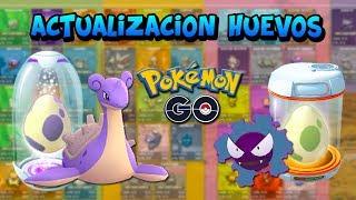 CAMBIOS EN HUEVOS 10, 5 y 2KM en Pokémon GO   (Actualización 26-04-2019)