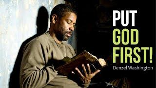 PUT GOD FIRST! ~ Denzel Washington | Epic Christian Inspirational & Motivational Speech (2019)