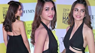 Raaz Reboot Actress Kriti Kharbanda Hot Body In Black Dress