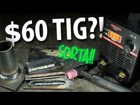 Cheap Ebay Welder -- WILL IT TIG?!
