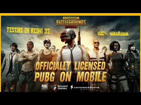 Testing PUBG mobile on Redmi 3s