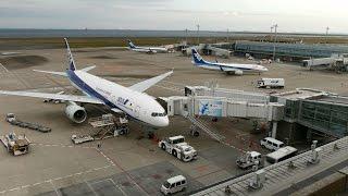 Time Lapse Tokyo International Airport(Haneda)