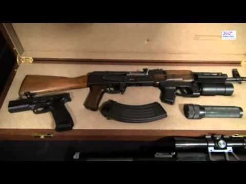 Продажа нелегального оружия в Москеве