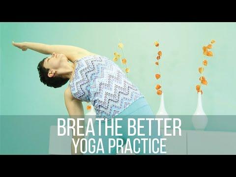 Breathe better yoga practice