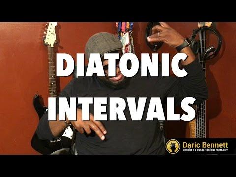 Daric Bennett's Bass Lessons - Diatonic Intervals Lesson