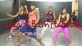 ginza j balvin ft anitta choreography coreografia