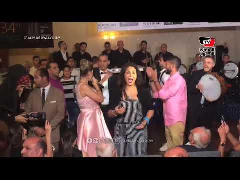 وفاء عامر تغني «يا بلادي» بإحدى حفلات مهرجان الإسكندرية السينمائي