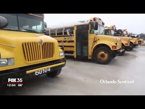 U.S.  has shortage of school bus drivers