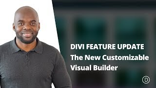Divi Feature Update LIVE - The New Customizable Visual Builder