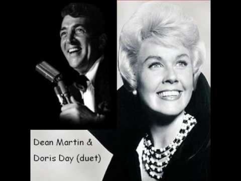 Mr Dean Martin duet singing Ba, its cold outside