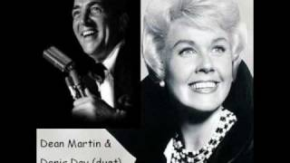 "Mr. Dean Martin (duet) singing ""Baby, it"