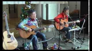 枚方市総合福祉会館ラポールひらかたで開催したいこいのミニライブでの...