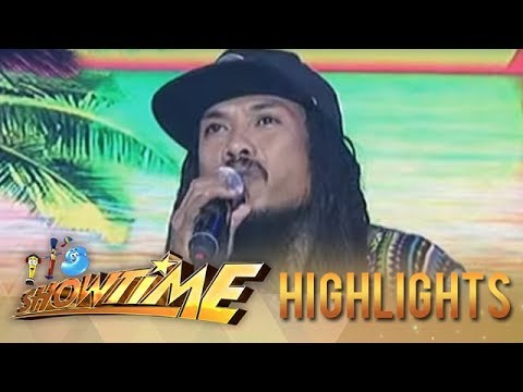 "Kokoi Baldo sings ""Baby I Love Your Way"" on It's Showtime"