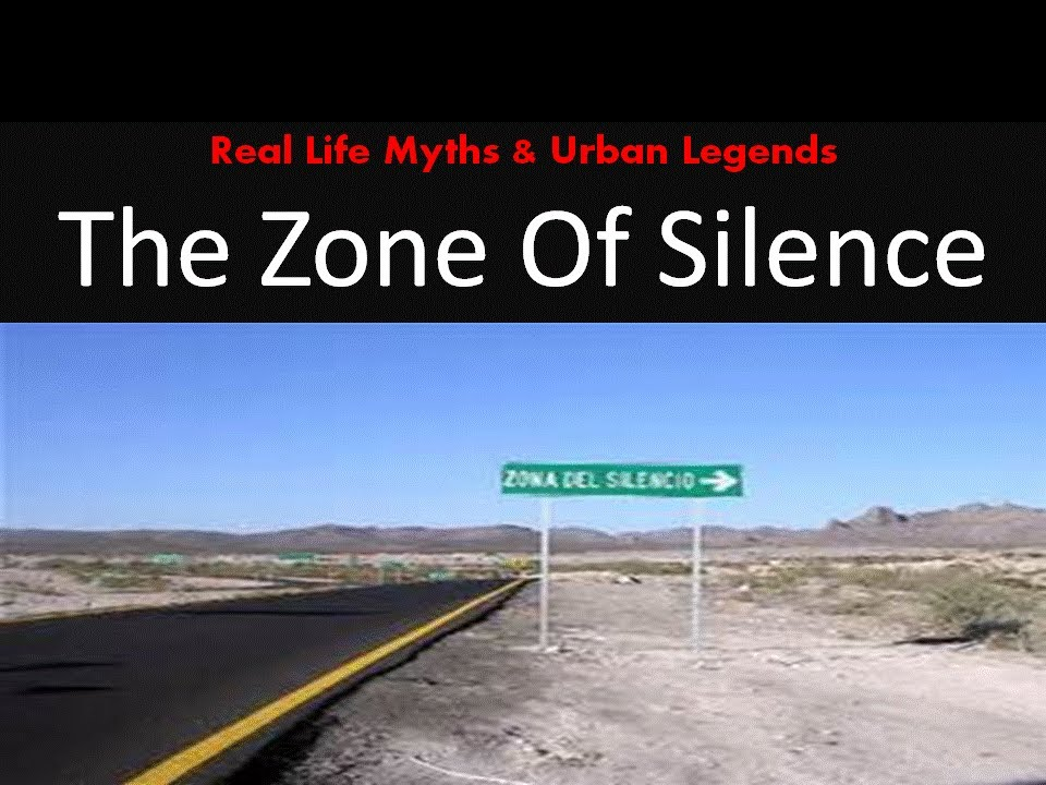 Real Life Myths & Urban Legends: THE ZONE OF SILENCE - YouTube